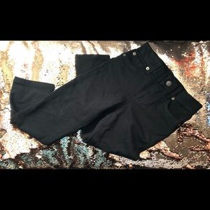 Black 7 for all mankind Girls Size 6